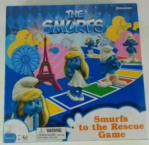 Primary image for The Smurfs Board Game Smurfs to The Rescue 2013 Pressman