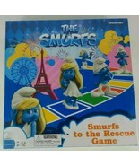 The Smurfs Board Game Smurfs to The Rescue 2013 Pressman - $15.88