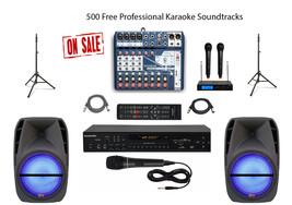 Karaoke System Home/Professional Machine Mixer w/Professional Mixer - $649.59