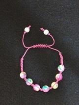 Bracelet Shambala - Pink Birthday Cake - $7.49