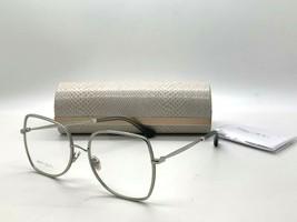 Jimmy Choo Eyeglasses Jc 228 YB7 Silver 56-18-145MM Italy Case& Cloth - $77.57