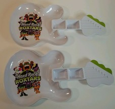 2014 Hard Rock Cafe Roxtars Guitar Shaped Children's Dinner Food Plate - 2 - $22.50