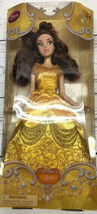 """Disney Store Belle Beauty And The Beast Barbie Doll With Gown 12"""" - $19.79"""