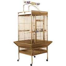 Prevue Hendryx Medium Wrought Iron Select Bird Cage - Coco Brown 961-PP-3152COCO - $340.25