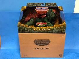 * Masters of the Universe Classics MOTUC Battle Lion NIB Matty Collector - $79.95