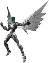 Bandai S.H.FIGUARTS Accel Welt Krähe Figur Silber - $51.29