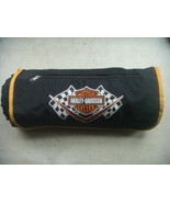 Harley Davidson Picnic/Stadium/Beach Travel Blanket Fleece & Nylon. W/Ey... - $32.67