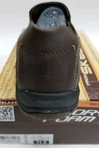 NEW 5 Size Fudge Relaxed Brown Fit SKECHERS Men's 11 Memory Loafer Foam Leather wXx70q