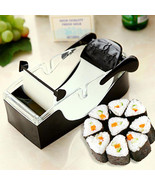 Kitchen Magic Roll Easy Sushi Maker Cutter Roller DIY Perfect Tool Sushi... - $6.99