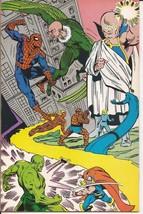 Marvel Saga #9 Spider-Man Wasp Vulture Angel Doctor Octopus X-men  image 2