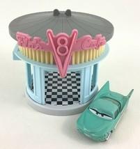 Disney Pixar Cars Flo's V8 Cafe Radiator Springs Mattel Playset Flo Dine... - $26.68
