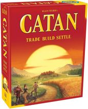 Klaus Teuber's Catan Trade Build Settle Board Game 5th Edition [New] Fam... - $39.99
