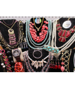 Grandmas Estate ALL Wearable Re-Sellable Vintage to Modern Jewelry Pound... - $27.99+