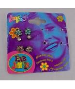 Lisa Frank Fab Jewels Earrings Set Missing Rings - $6.26