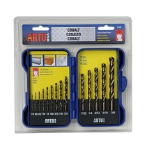 Artu - 14-Pc. Cobalt Drill Bit Set - $93.95