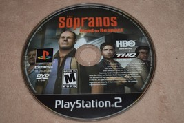 PS2 Playstation 2 The Sopranos Road to Respect FREE SHIPPING - $6.79