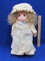 "Vintage Precious Moments 16"" Doll Dawn In Nightgown Robe Cap Slippers #1... - $12.22"