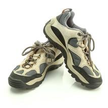Merrell Baja Ventilator Beige Hiking Trail Shoes Low Ankle Mesh Womens 7.5 - $39.46