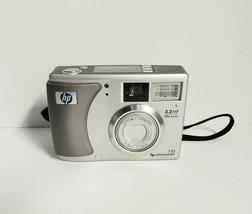 HP PhotoSmart 735 3.2 MP HD Digital Camera 15x Zoom Model GRLYB-0210 - $17.37
