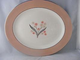 "Homer Laughlin Eggshell Cavalier Barclay 13.5"" Oval Serving Platter - $19.95"