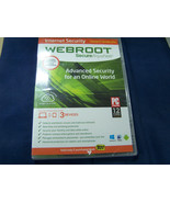 Webroot Secure Anywhere Internet Security Plus (3 Devices) Windows 8 sealed - $14.84