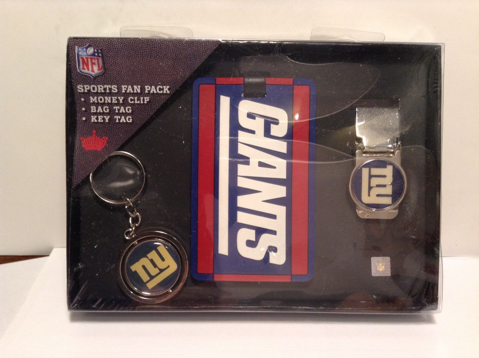 NEW NFL Giants Sports Fan Pack