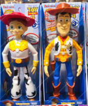 The Disney Store Takara Tomy Woody and Jessie Talking  action figures - $69.99