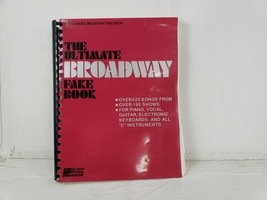 1991 The Ultimate Broadway Fake Book - $12.69
