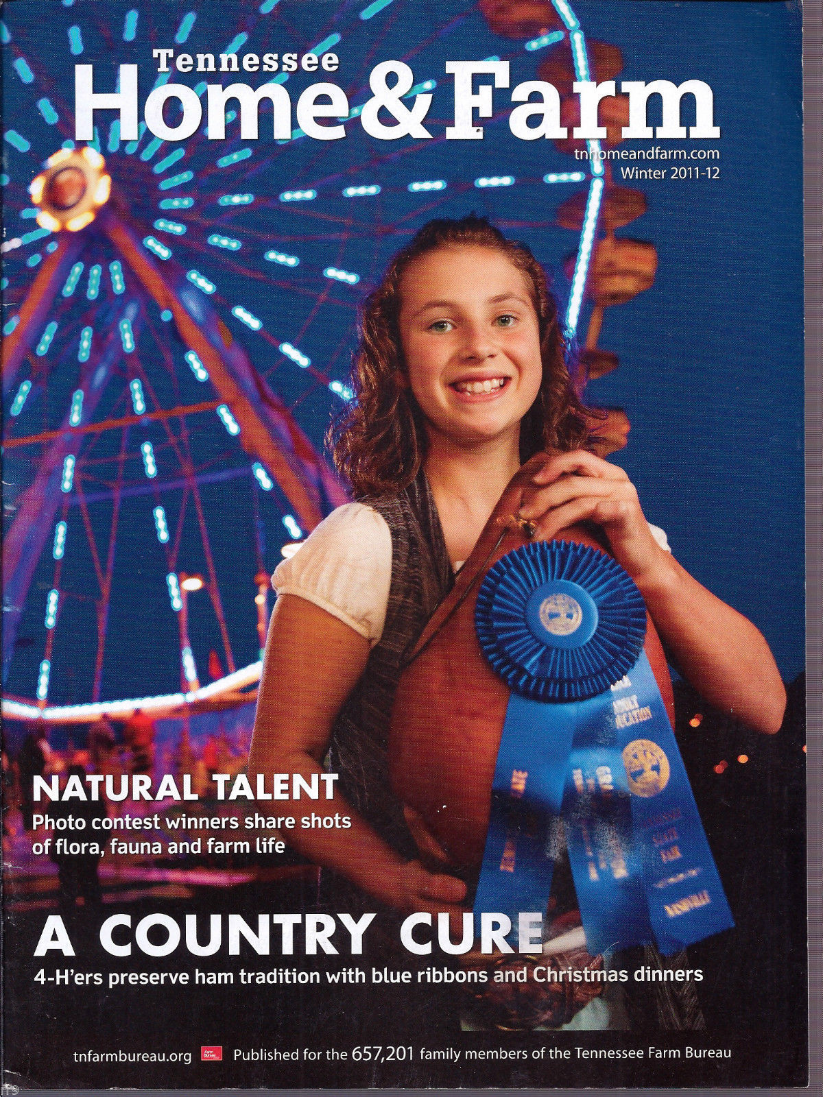Primary image for Tennessee Home & Farm Magazine Winter 2011-12 A Country Cure
