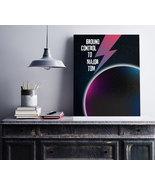Space Oddity (DAVID BOWIE) Song Lyrics Music Art Poster Print Wall Decor - $17.81+
