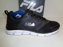 Fila Size 9 Memory Steelsprint Black Training Athletic Sneakers New Mens Shoes - $86.11