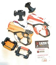 Nerf Lazer Tag Game - 2 Blasters, Cradles, iPhone Skins, iPod Touch Skin... - $41.11