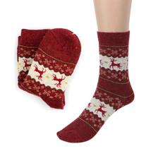 Men's Socks, Christmas Deer Casual knit Wool winter s Lowest Price - $9.99