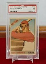 1966 Venezuela Topps Rocky Colavito #150  PSA  7 - $327.25