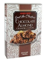 Trader Joe's Just the Clusters Chocolate Almond Granola Cereal - $16.78