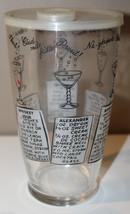 50s Buckeye Molding Company Vintage Cocktail Martini Shaker Recipes Made... - $26.77
