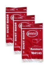 9 Kenmore #20-5045 Type H Canister Vacuum Cleaner Bag Model 203040 24025... - $10.87