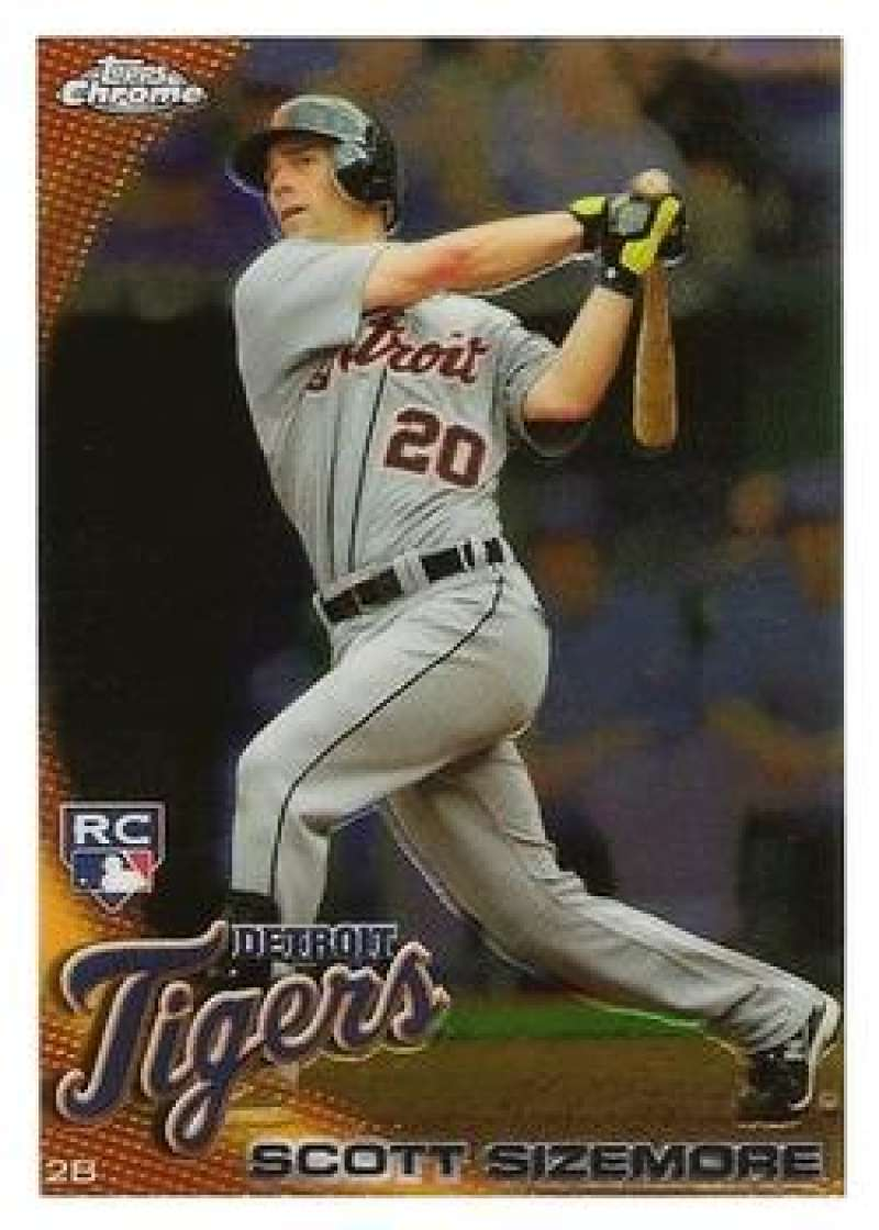 Primary image for 2010 Topps Chrome Refractors #175 Scott Sizemore Tigers NM-MT (RC - Rookie Card)