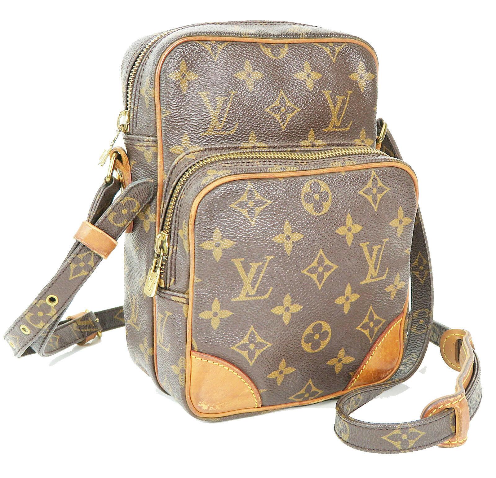 Authentic LOUIS VUITTON Amazone Monogram Cross body Shoulder Bag Purse #34636 image 3