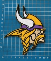 "Minnesota Vikings logo Football NFL 4"" embroidered Jersey Patch - $14.99"