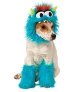 Fluffy, friendly pet monster costume includes furry collar and 2 matching leg fl - $15.67