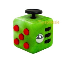 Jade Fidget Block Toy Anxiety Stress Relief Focus Attention Cube Puzzle ... - $5.99