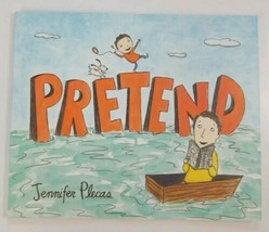 Pretend Book Paperback By Jennifer Plecas Dolly Partons Imagination book - $4.99