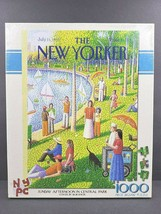 The New Yorker Sunday Afternoon in Central Park 1000 Piece Jigsaw Puzzle... - $29.69