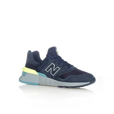 SNEAKERS UOMO NEW BALANCE 997 LIFESTYLE MS997HF MAN CASUAL SHOES SNKRSROOM BLU