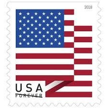 USPS Forever Stamps 1 Coils of 100 - 100 Stamps - $50.00