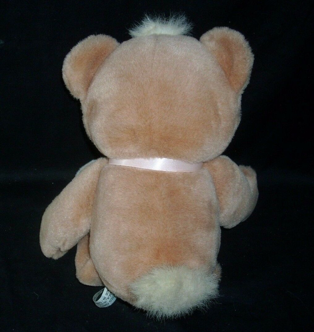 "15"" ENESCO 1997 HAVE A HUG BROWN BABY TEDDY BEAR STUFFED ANIMAL PLUSH TOY W/ TAG image 6"