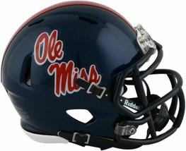 Ole Miss Rebels Speed Mini Helmet by Riddell NIB NCAA Football Mississip... - $33.40