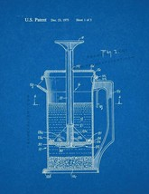 Beverage Making Device Patent Print - Blueprint - $7.95+