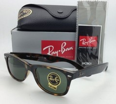 NEW WAYFARER Ray-Ban Sunglasses RB 2132 902 52 Tortoise Frames Grey-Gree... - $199.95